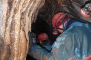 tunnel into porth yr ogof cave