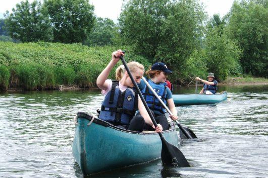 canoe hire photo