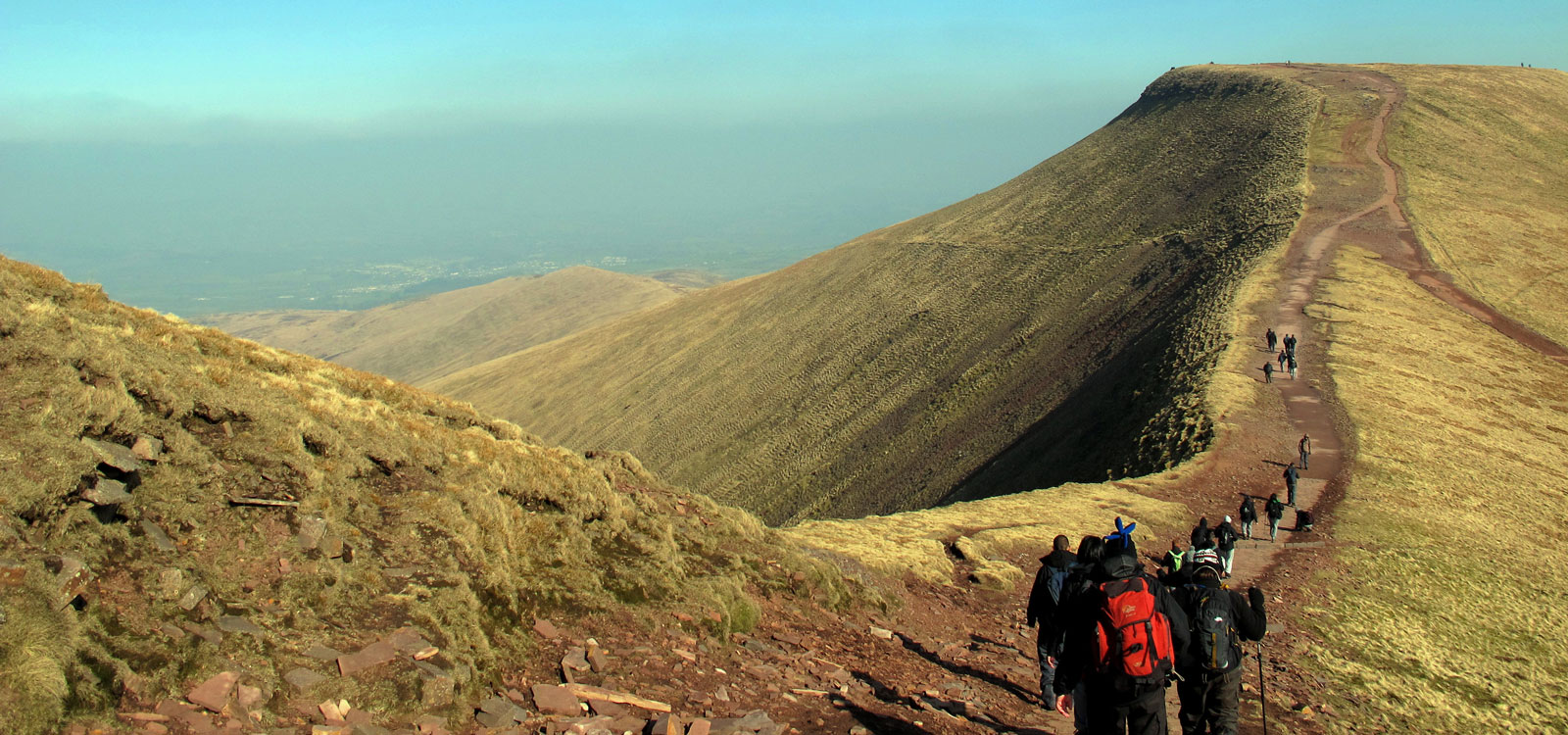 pen y fan hill walk photo